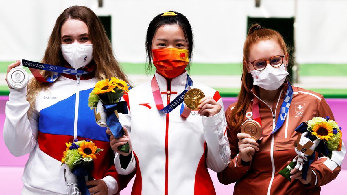 Primeras medallistas de los Juegos de Tokio