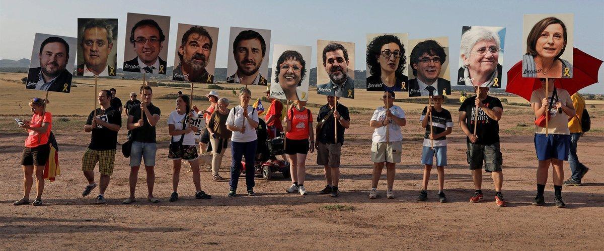 Los indultos toman impulso en el aniversario de la sentencia del 1-O