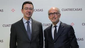 Jorge Badíay Rafael Fontana,consejero delegadoypresidente, respectivamente, de Cuatrecasas.