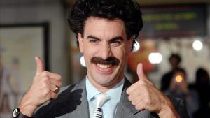 Sacha Baron Cohen, en su papel de Borat.