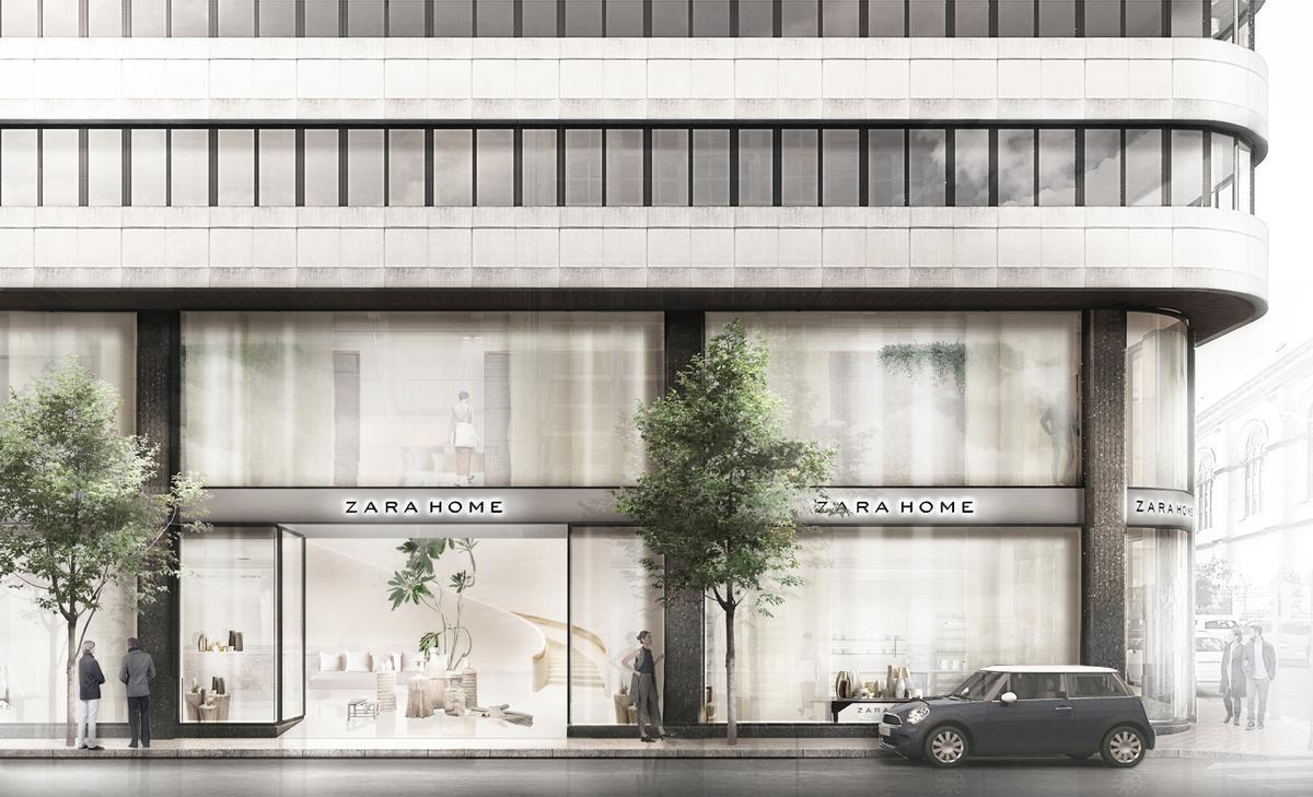 Nueva tienda Zara Home en A Coruña.