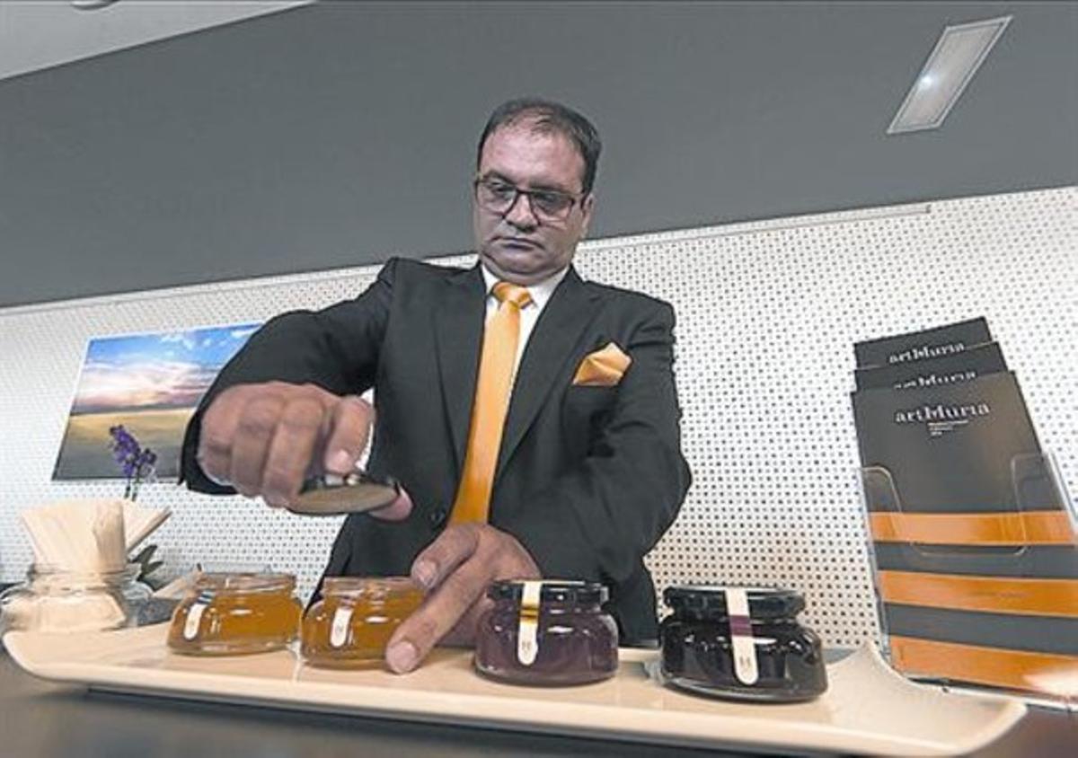 Innovación 8 Rafel Múria, en la presentación del producto.