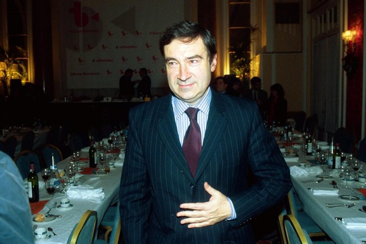 El director de 'El Mundo', Pedro J. Ramírez, en una imagen de archivo.