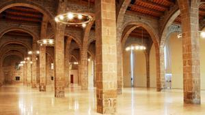 Sala Gran del Museu Marítim de Barcelona.
