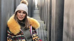 Elena Tablada pasa las fiestas de Navidad en Berlín.