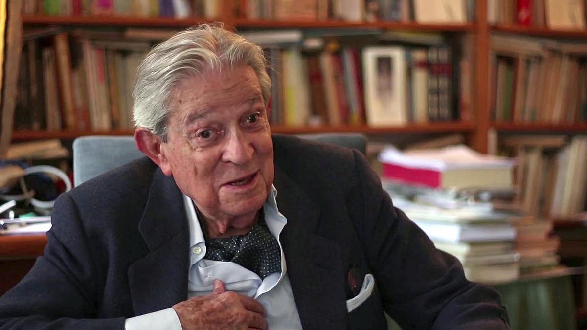 Enrique Badosa, poeta, editor y crítico literario.