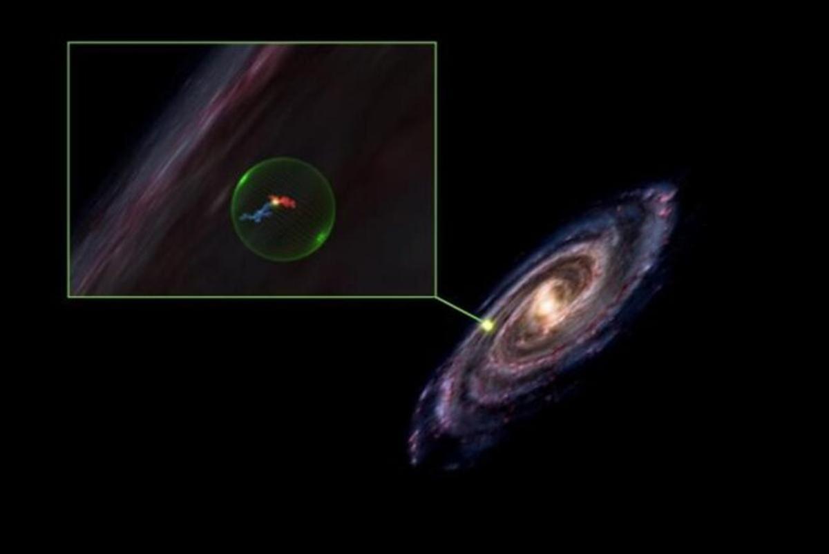Descubren un enorme boquete de 500 años luz de ancho en la Vía Láctea
