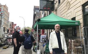Joe Holtz,  fundador de Park Slope Food Coop cuando era un