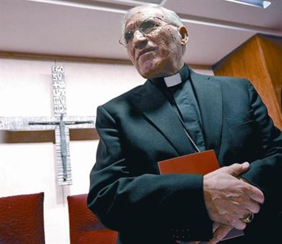 Rouco, en una asamblea de la Conferencia Episcopal.