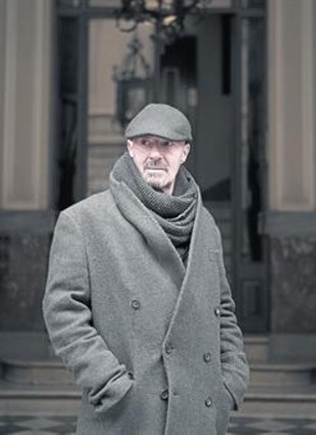 Enric Hernàez, fotografiado el miércoles en Barcelona.