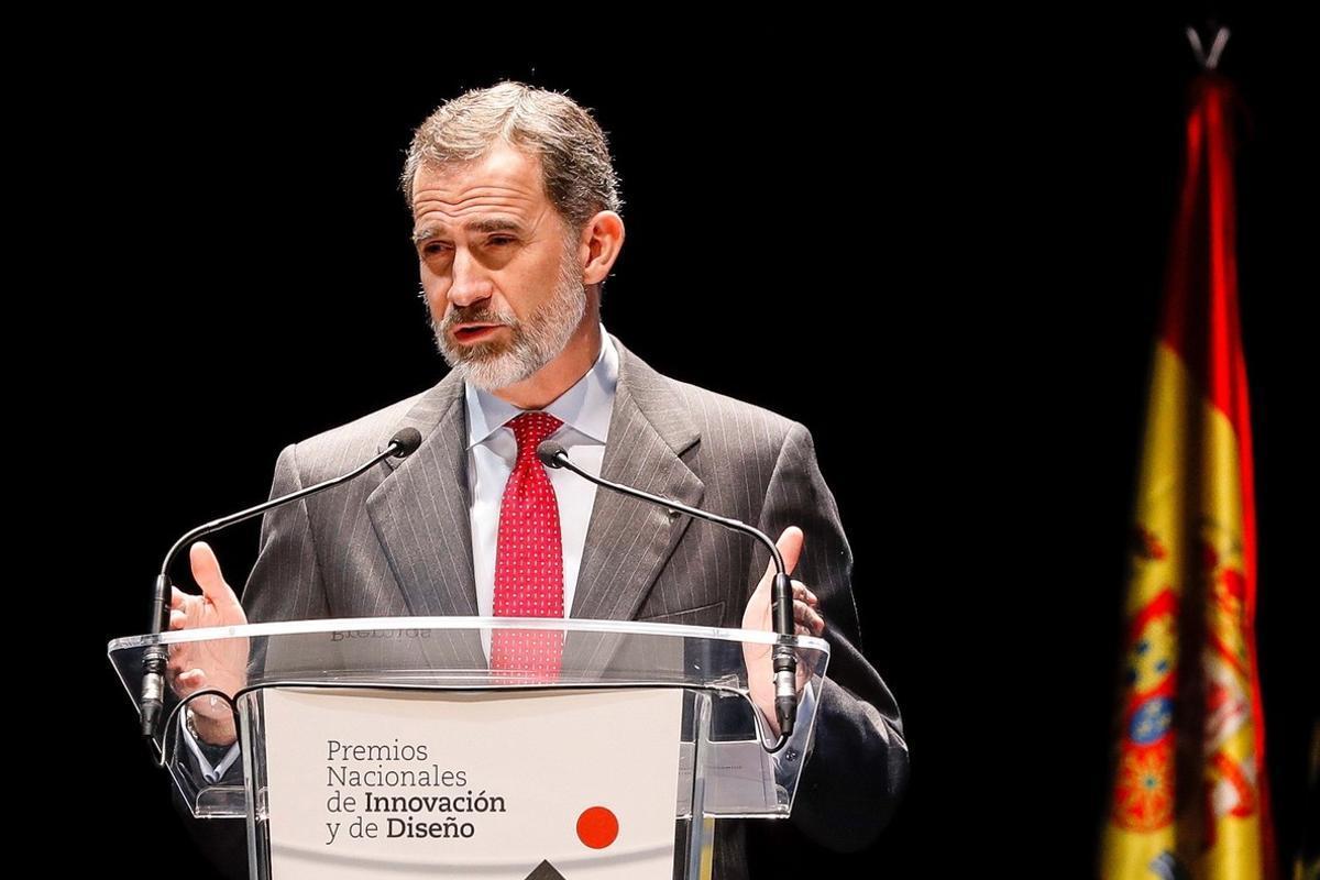 El rey Felipe VI, el pasado 12 de febrero, en Madrid.