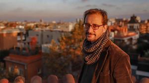 El filólogo y traductor Lluís Agustí, en Barcelona.