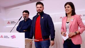 Marta Vilalta ha subrayado que aunque Esquerra ha ganado las elecciones en Cataluña la pelota está en el tejado de Pedro Sánchez, que es quien tiene que mover ficha.