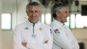 Setién: «M'hauria deixat tallar un dit perquè m'entrenés Cruyff»