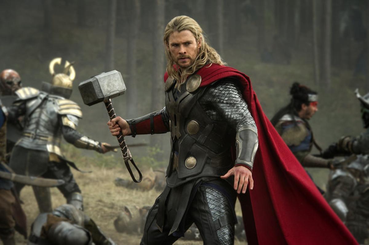 Chris Hemsworth, en 'Thor'.