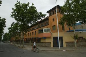 Cárcel de mujeres de Wad-Ras, en Barcelona.