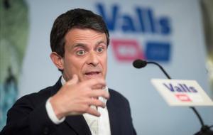 Manuel Valls, en rueda de prensa, el pasado 29 de mayo.