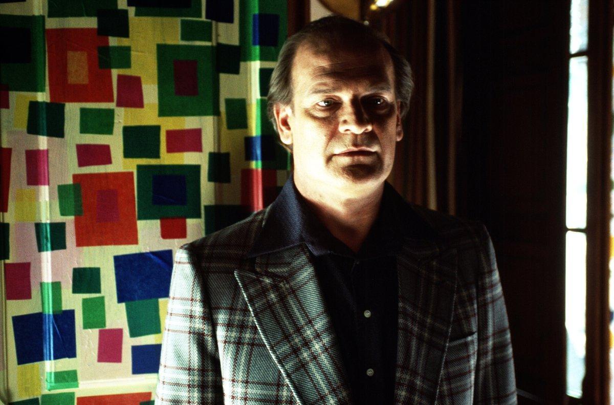 Lluís Homar, durante el rodaje de 'La mala educación'.