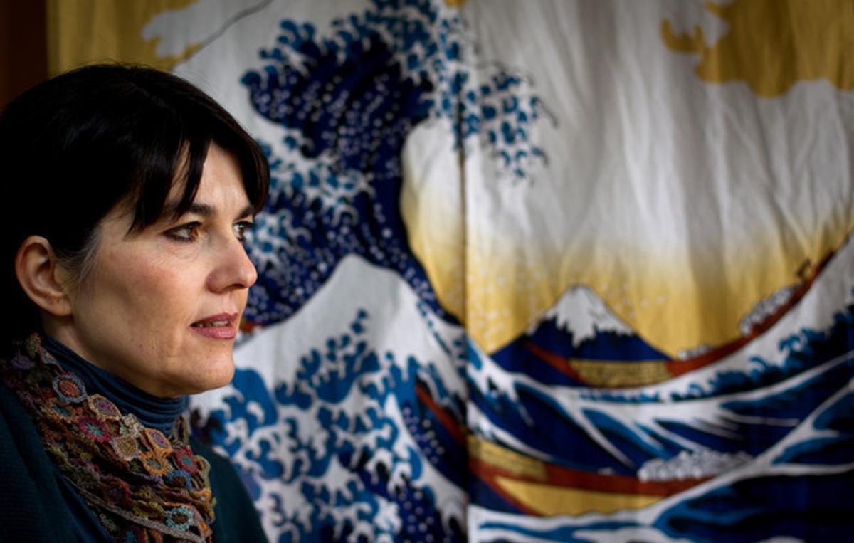 María Belón, en su casa de Madrid.