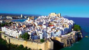 Peníscola: Fortalesa mediterrània