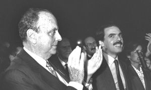 Fraga y Aznar.