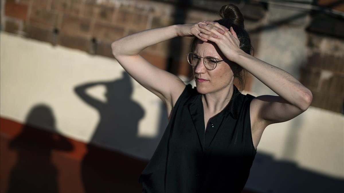 Carla Simón, fotografiada esta semana en Barcelona