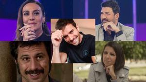 Algunos de los rostros televisivos que han mostrado su cariño a Pablo Alborán.