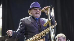 Van Morrison, en concierto, en Vitoria, hace un par de años.