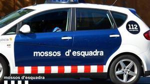 Un vehículos de los Mossos.