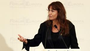 La consellera Borràs destaca que l'Arts Santa Mònica acogerá una exposición coincidiendo con el 1-O.