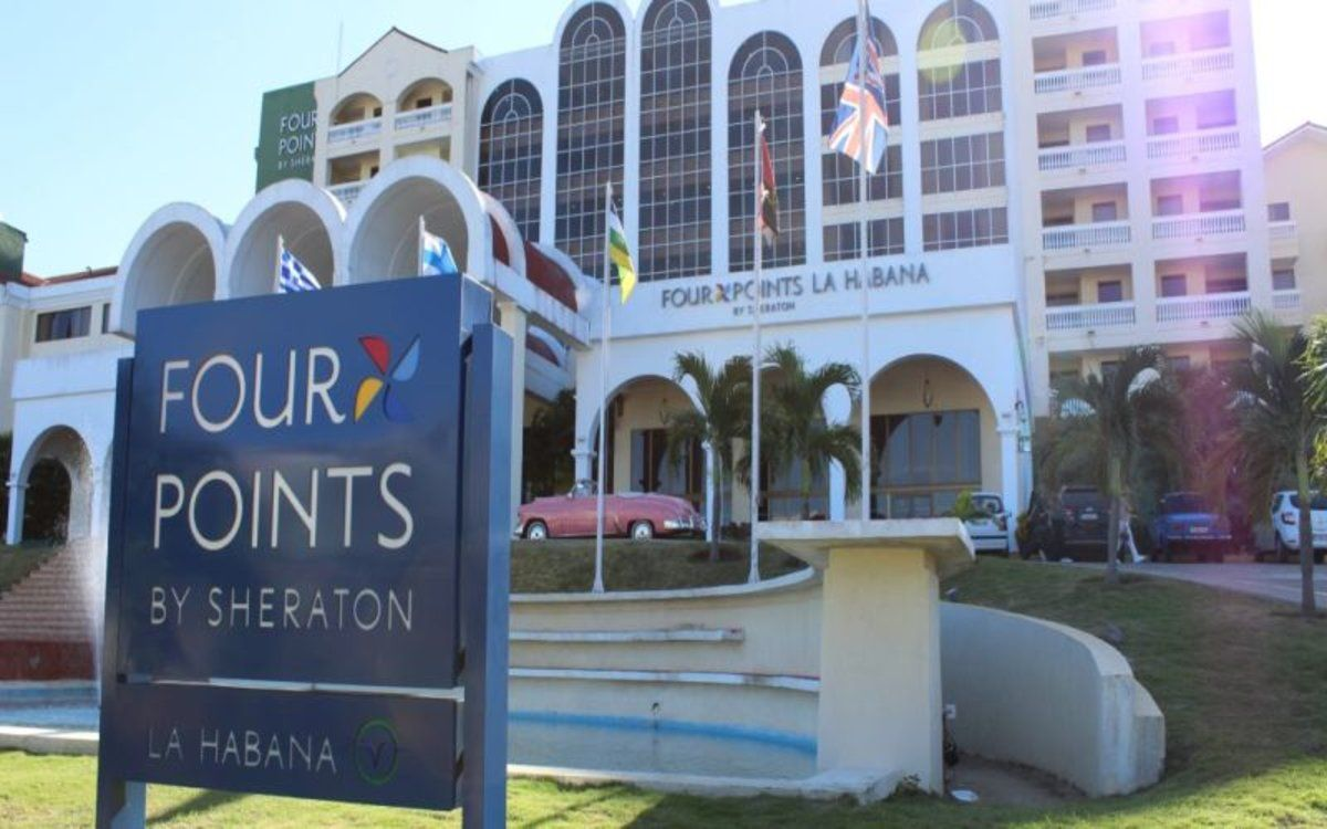 El hotel Four Points by Sheraton de La Habana.