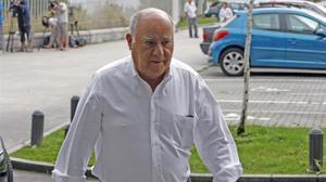 Amancio Ortega, en una de sus escasas apariciones públicas, en el 2013.
