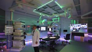 Zona quirúrgica del Hospital del Mar, de Barcelona.