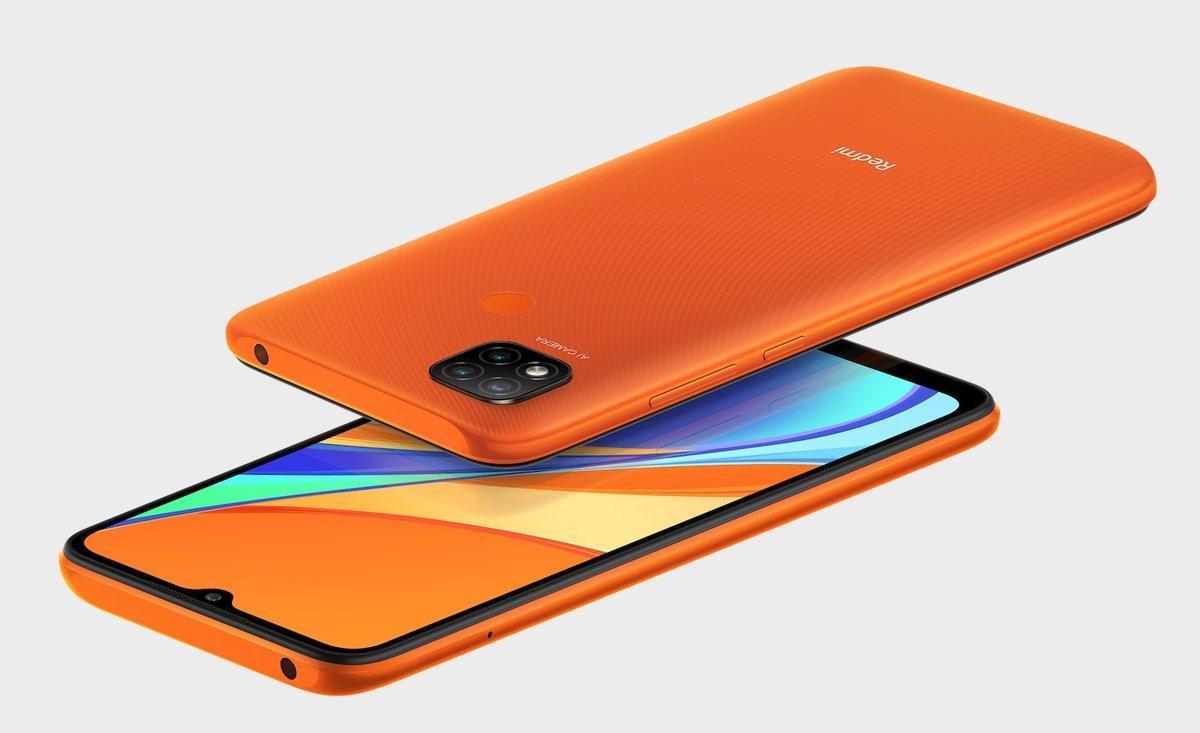 Xiaomi Redmi 9C.