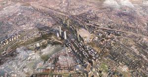 Maqueta de Madrid Nuevo Norte.