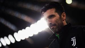 Gianluigi Buffon, portero de la Juventus.