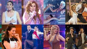 Algunas de las caras conocidades que han participado en más de un talent show en nuestro país.