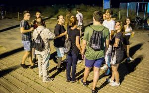 Els mediadors nocturns redueixen l'incivisme a les zones de lleure