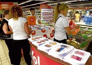 Estudio de mercado para comprobar la aceptación de marcas blancas en un establecimiento de Barcelona.