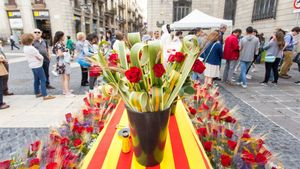 La plaza de Sant Jaume y el Ajuntament acogen diversos actos.