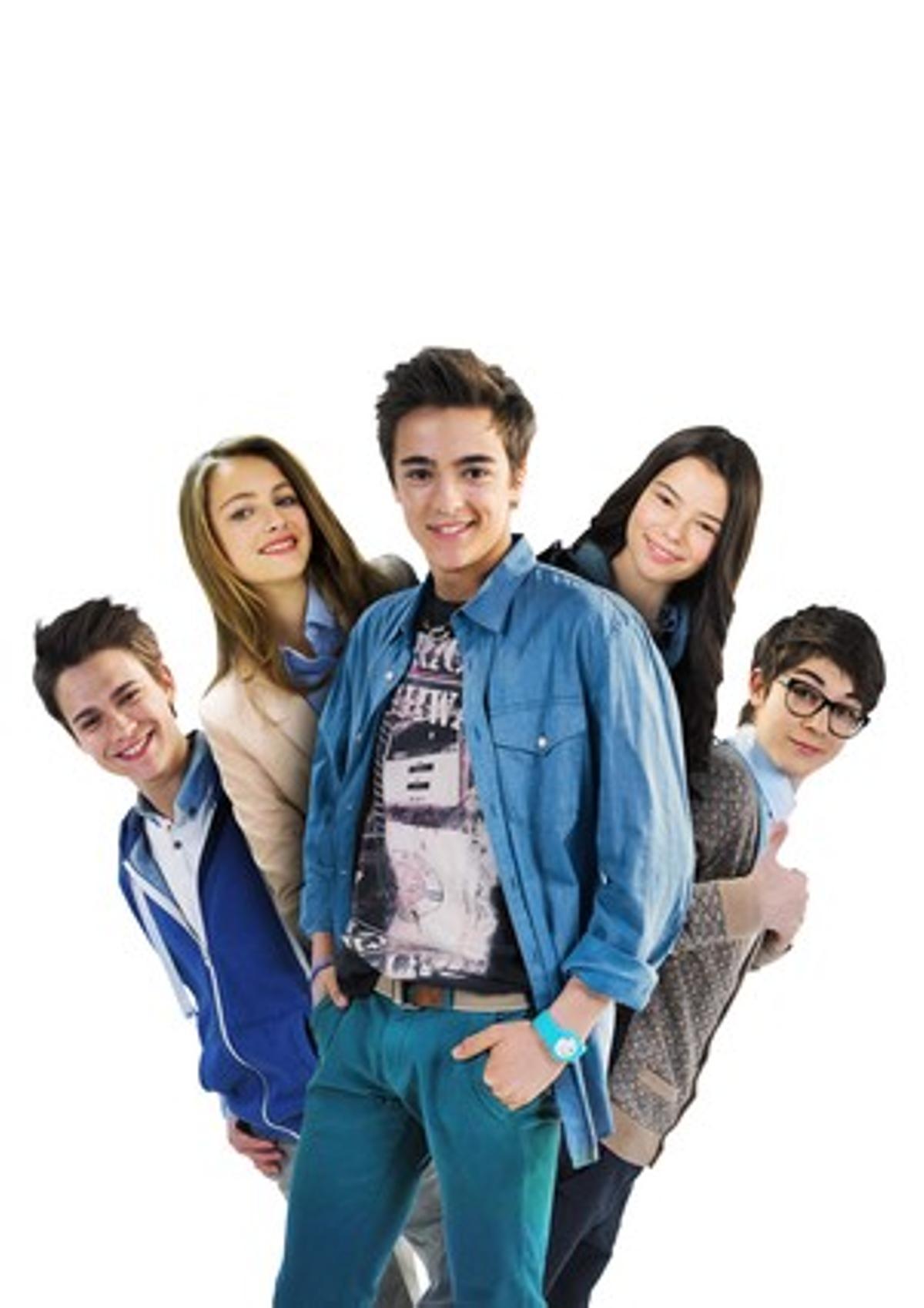 Imagen de la serie de Disney Channel 'Alex & friends'.