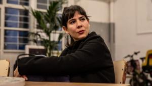 La actriz Carlota Olcina.