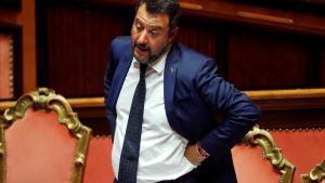 El ministro del Interior de Italia y líder de la Liga, Matteo Salvini.