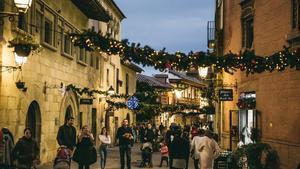 Las calles del recinto estarán decoradas con motivos navideños.