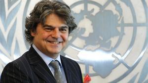 Jorge Moragas, representante permanente de España ante la ONU.