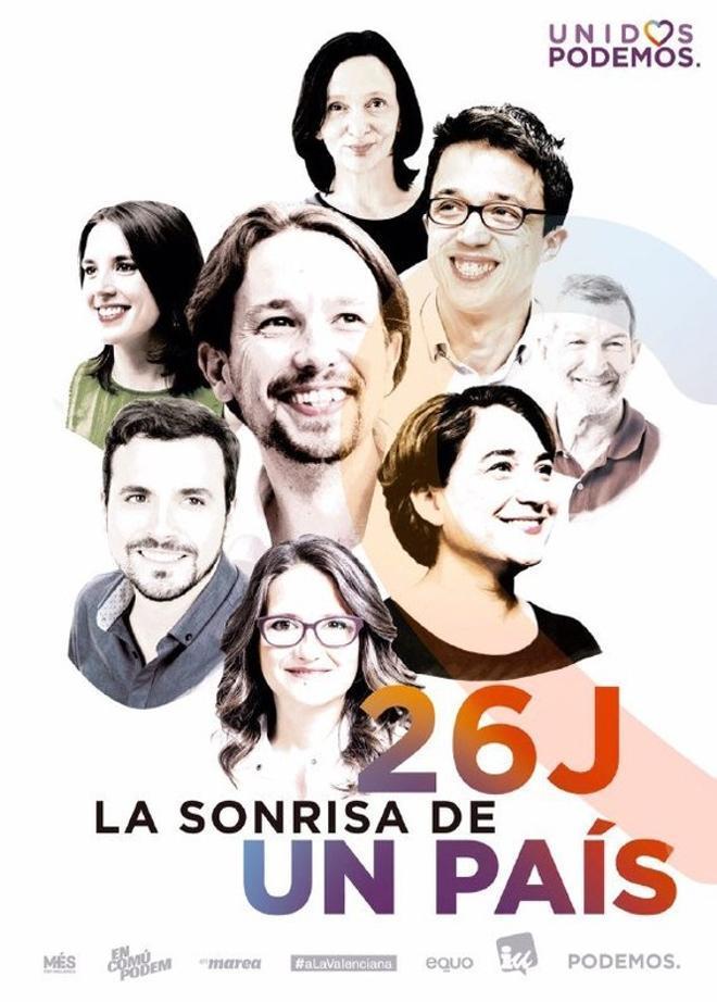 Domènech i Baldoví, despareguts del cartell d'Units Podem