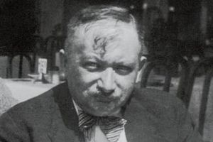 El escritor austriaco Joseph Roth.
