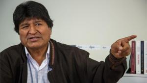 Evo Morales está como refugiado en Argentina.