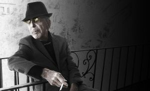 Leonard Cohen, en una imagen promocional de 'You want it darker'