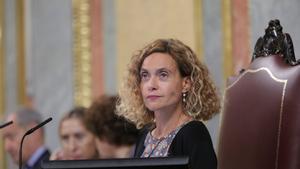 17/09/2019 La presidenta del Congreso, Meritxell Batet, durante la segunda reunión del período de sesiones de la XIII legislatura del Congreso de los Diputados, en Madrid (España), a 17 de septiembre de 2019.